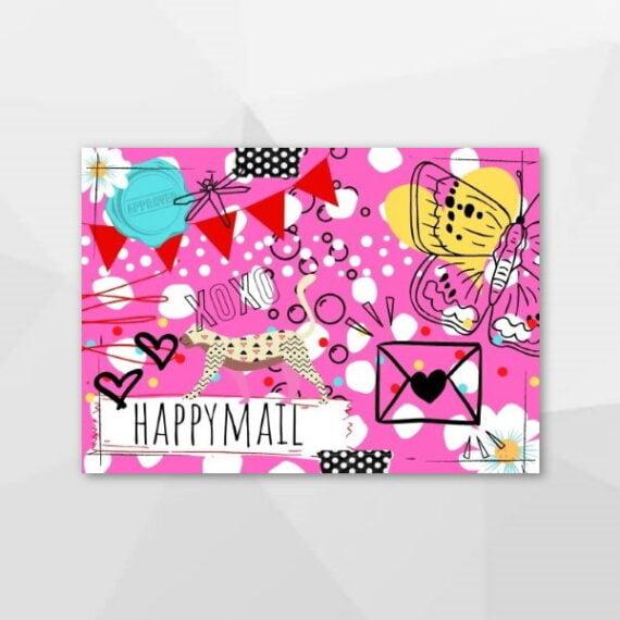 Happymail - Hysterische kaarten bij Echt-wel.nl