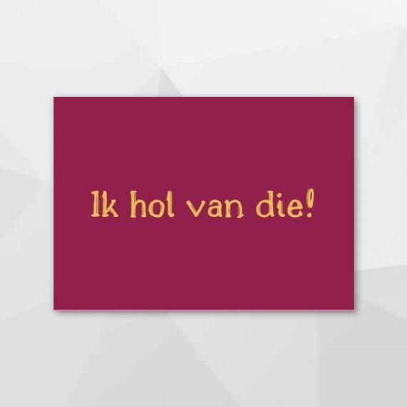 Ik hol van die! - Grunninger kaarten bij Echt-wel.nl