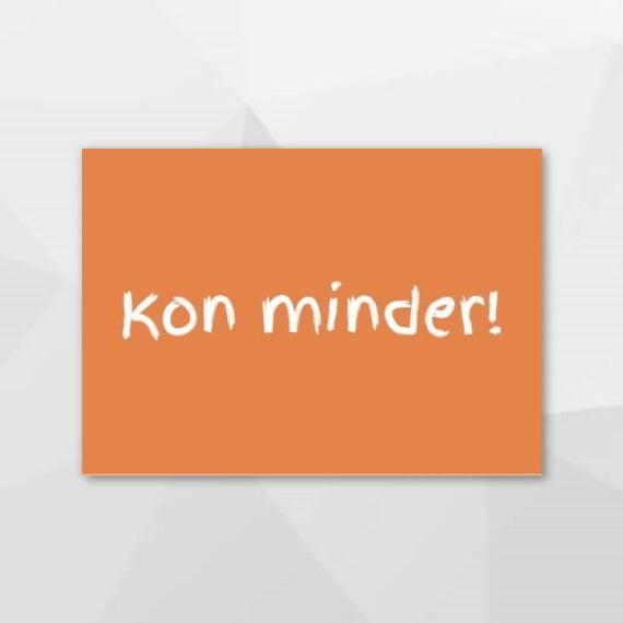 Kon minder! - Grunninger kaarten bij Echt-wel.nl