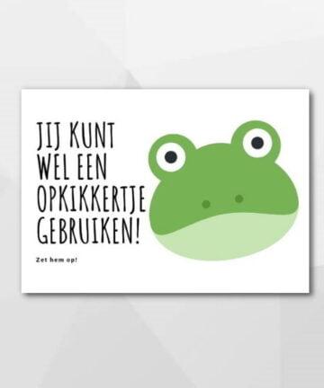 Opkikkertje - Beterschapskaarten bij Echt-wel.nl