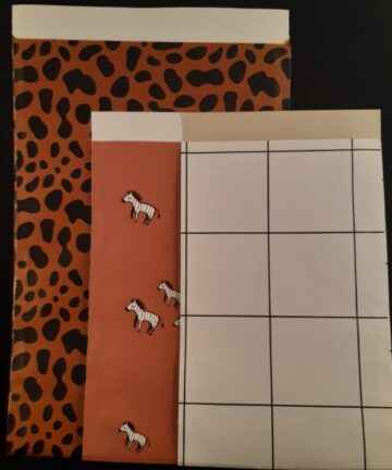 Cadeauzak bruin zebra - Unieke, leuke en authentieke producten bij Echt-wel.nl