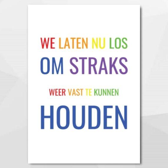 We laten nu los - Unieke, authentieke en leuke kaarten bij Echt-wel.nl