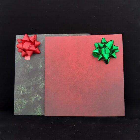 Cadeauzak Kerst kleur - Handgemaakte producten bij Echt-wel.nl