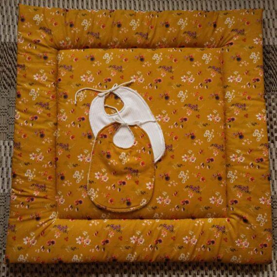Speelkleed Vierkant oranje - Handgemaakte producten bij Echt-wel.nl