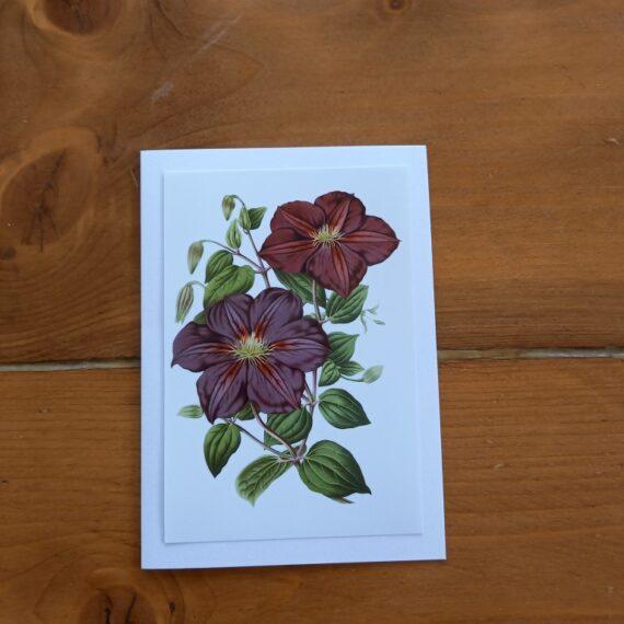 Handgemaakt kaarten - bloemen