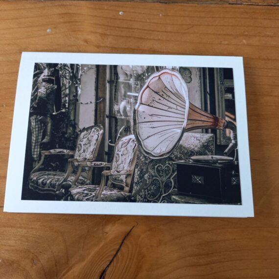 Handgemaakte kaart - vintage