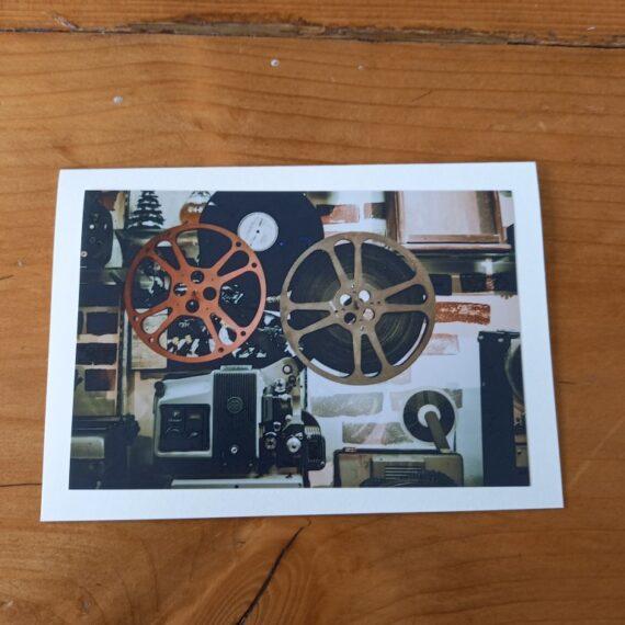 Handgemaakte kaart a6 -vintage