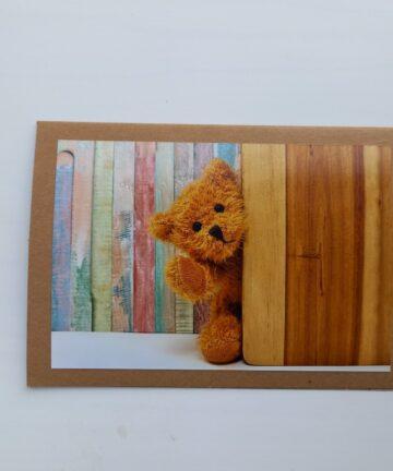 Handgemaakt kaarten - Teddyberen