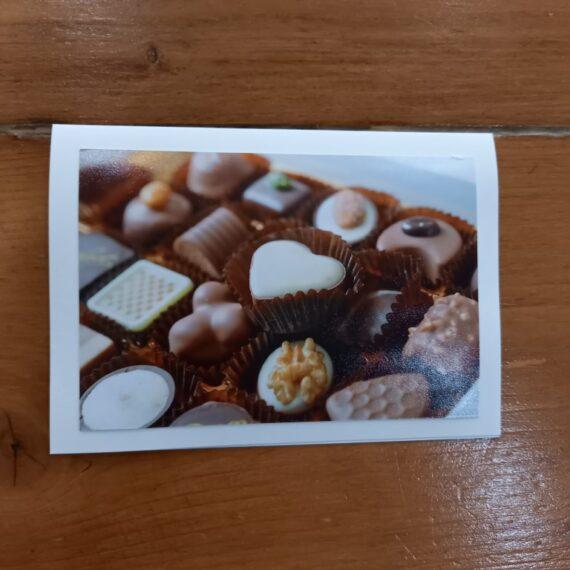 Handgemaakte kaarten - zoetigheid